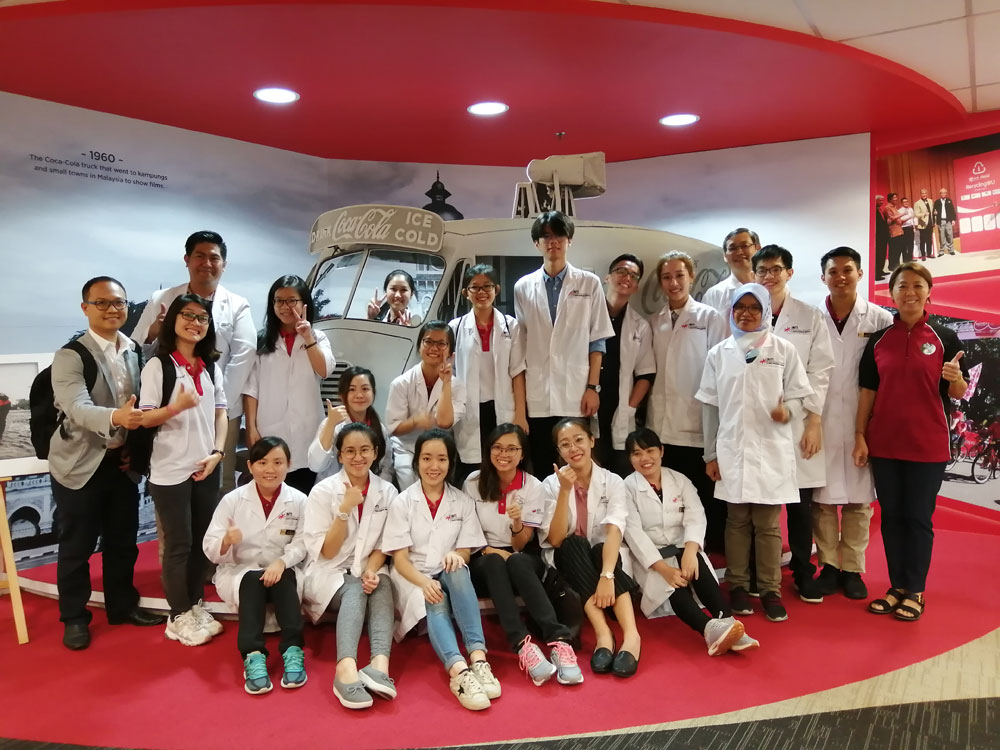 INTI Students Make the Day for Coca-Cola's Employees - INTI