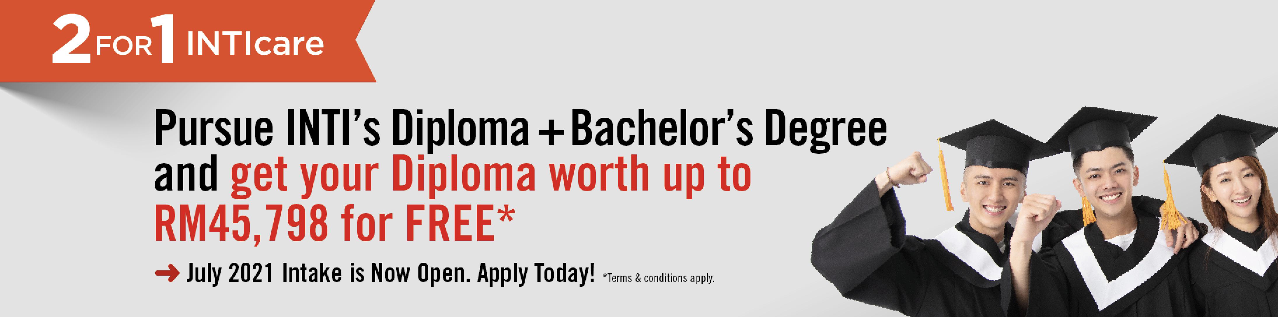 Diploma + Degree